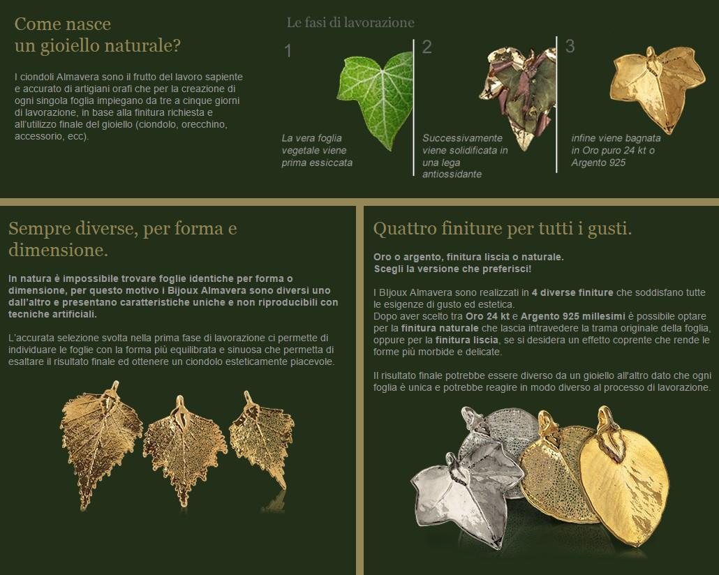 acquista originale tecniche moderne dove posso comprare Un Gioiello naturale - Almavera Bijoux in Oro e Argento ...
