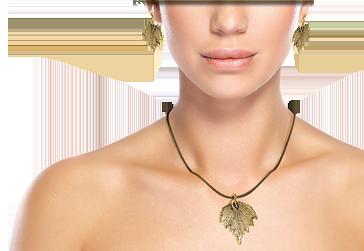 Scopri il significato delle foglie almavera bijoux in for Box significato